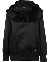 Undercover - Ruffle Detail Hoodie - Lyst