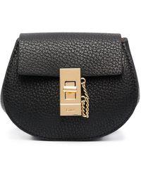 Chloé Мини-рюкзак Drew - Черный