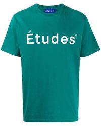 Etudes Studio ロゴ Tシャツ - マルチカラー