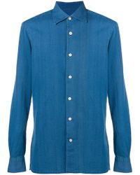 Kiton - Slim Fit Shirt - Lyst
