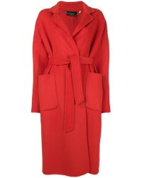 Clips - Oversized Fitted Coat - Lyst