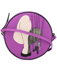 Olympia Le-Tan - String Puppet Stitch Bag - Lyst