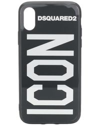 DSquared² Iphone X Icon Case - Black