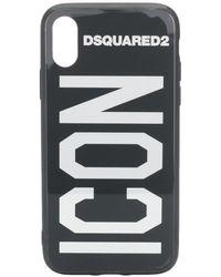 DSquared² Coque d'iPhone X Icon - Noir