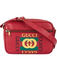 Gucci - Bedrukte Messengerbag - Lyst