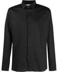 Z Zegna ポインテッドカラー シャツ - ブラック