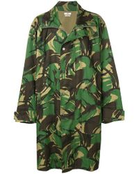 Cmmn Swdn - Camouflage Print Coat - Lyst