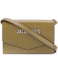 Jacquemus Le Porte Azur Strap Card Holder - Groen