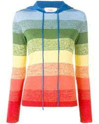 8eb1a5b839915 Ports 1961 - Rainbow Striped Knitted Top - Lyst