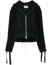 Song For The Mute - Oversized Knitted Jacket - Lyst