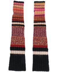 Etro Long Knitted Gloves - Black