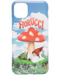 Fiorucci Чехол Для Iphone 11 Pro С Принтом - Синий