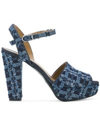 Sonia Rykiel - Mme Rykie Denim Sandals - Lyst
