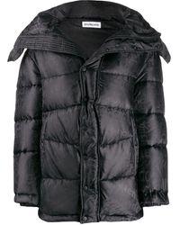 Balenciaga ニュースウィング パデッドジャケット - ブラック