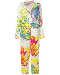 All Things Mochi - Printed Jumpsuit - Lyst