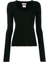 Bottega Veneta リブニット セーター - ブラック