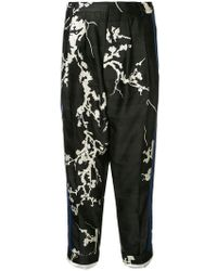 Haider Ackermann - Embroidered Floral Details Trousers - Lyst