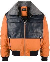 Rassvet (PACCBET) カラーブロック ボンバージャケット - オレンジ