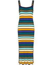 Solid & Striped Gestreepte Jurk - Zwart