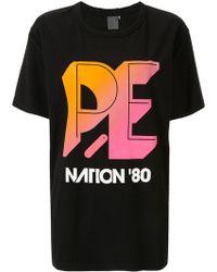 P.E Nation Overspin Tシャツ - ブラック