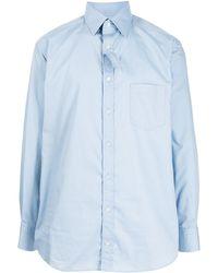 Kolor オーバーサイズ シャツ - ブルー