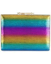 M2malletier 'Rainbow' Clutch - Blau