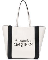 Alexander McQueen Сумка-шопер С Логотипом - Многоцветный