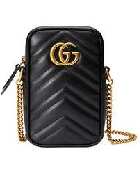 Gucci - Minibolso GG Marmont - Lyst