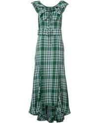 Rosie Assoulin - Crinkle Plaid Dress - Lyst