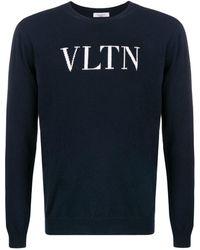 Valentino Trui Met Vlogo - Blauw