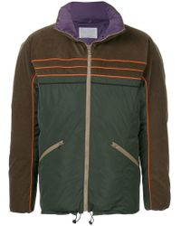 Kolor - Colour Block Lightweight Jacket - Lyst
