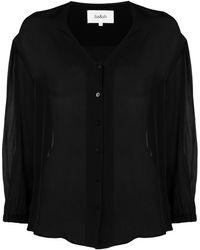 Ba&sh Блузка Ultra С V-образным Вырезом - Черный
