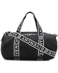 Givenchy Reisetasche mit Logo - Schwarz