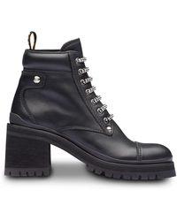 0c9dc9ef43b07 Miu Miu 80mm Leather Ankle Boots