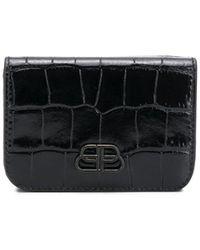 Balenciaga Мини-кошелек Bb - Черный