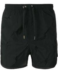 Neil Barrett - Piped Swim Shorts - Lyst