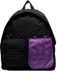 Raf Simons X Padded Doubl'r Backpack - Black