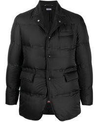 Thom Browne Куртка-пуховик - Черный