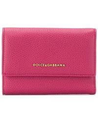 Dolce & Gabbana 三つ折り財布 - ピンク