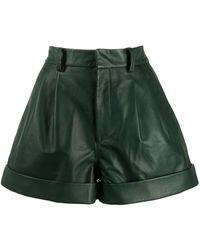 Étoile Isabel Marant Hoch sitzende Shorts - Grün