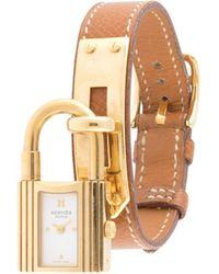 Hermès Наручные Часы Kelly Pre-owned 1996-го Года - Коричневый