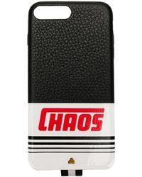 Chaos IPhone 7/8-Hülle mit Reflektor-Logo - Schwarz