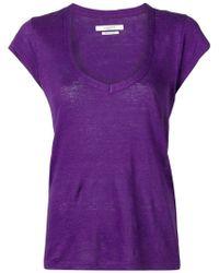 Étoile Isabel Marant - V-neck T-shirt - Lyst