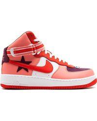 Nike Кроссовки Air Force 1 Hi / Rt - Красный