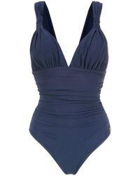 Brigitte Bardot | 'eli' Draped Swimsuit | Lyst