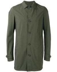 Herno - Buttoned Short Coat - Lyst