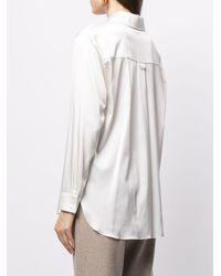 Matériel シルクシャツ - ホワイト