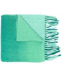 Isabel Marant バイカラー スカーフ - グリーン