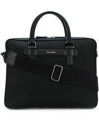 Dolce & Gabbana Портфель С Верхними Ручками - Черный