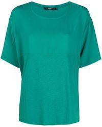 Seventy パネル Tシャツ - グリーン